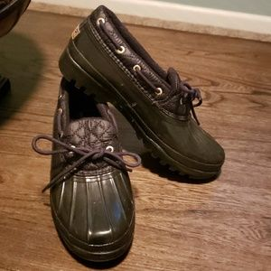 Sperry Top Sider Wo's Waterproof Rubber Boot